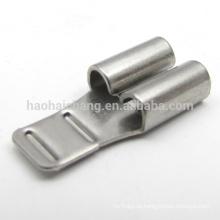 Terminal fêmea do conector terminal do friso de aço inoxidável do OEM para as peças da condição do ar