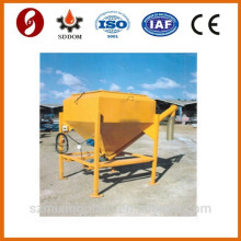 Mobile cement silo with bag destacker