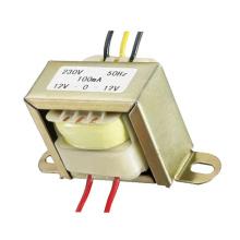 EI transformador 1.2W 5V 9V 12V de baixa frequência
