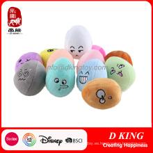 Regalos lindos de la promoción de la felpa del huevo de Pascua