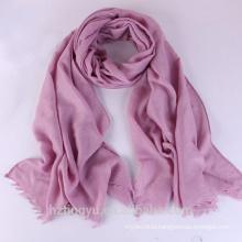 Fashion lady malaysia long viscose muslim hijab scarf dubai muslim shawl