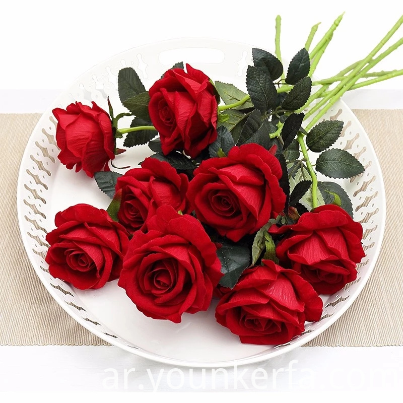 Rose Artificial Flowers 5 Jpg