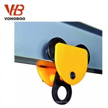 Carretilla de mano manual de la carretilla 2T para los tornos del alzamiento de elevación