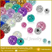 3мм 4мм 5мм ювелирных изделий частей тела Лабретка живота кольцо Кристалл мяч