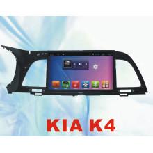 Sistema Android Car DVD Bluetooth para KIA K4 9 polegadas com GPS de carro