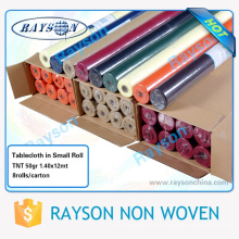 Wholesale Plastic Printed Table Covers/thick Plastic Table Cover Roll