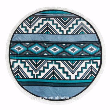 Popular Bohemia style Round beach towel Mandala BT-491 China Supplier