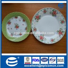 Popular Poland ceramic snack plates, fine porcelain 2 tiers cake stand