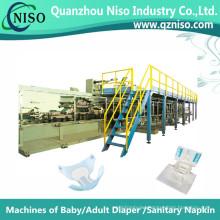 Professional Semi-Servo Machines Making Adult Diaper with CE (CNK250-HSV)