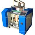 RW-2000 máquina de corte y rebobinado semiautomático de película elástica