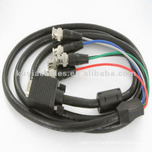 1.8M Single M / M Extension Video VGA BNC Cable pour HDTV