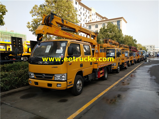 Articulated Aerial Lift Trucks