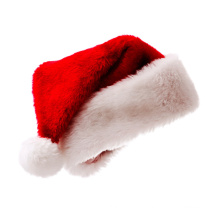 Decoration Christmas Hat Comfortable Santa Hat Xmas Holiday Hat for Adults Kids Christmas Gif Custom