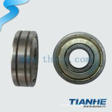 chrome steel/gcr15 bearing 608 skate bearing