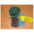 Double Loop Tie Wire (BLACK ANNEALED, GALV. WIRE, PVC COATED TIE WIRE)