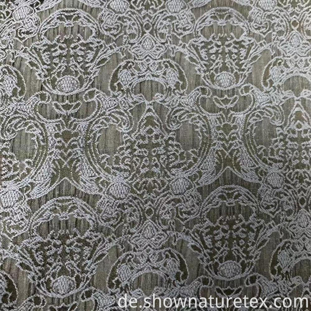 Stretch Cotton Polyester Jacquard Fabric