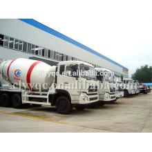 Novo design 6m3 concreto misturador tambor caminhão barato mixer pequeno caminhão