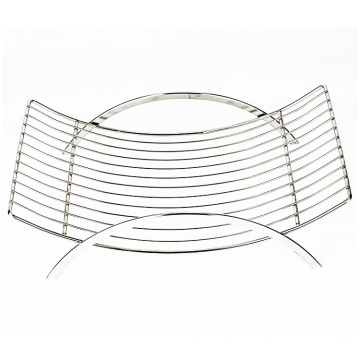 Fruit Basket Creative Countertop Stainless Steel Wire Colander Vegetable Bowl Kitchen Storage Fruit Basket