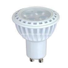 Nueva fundición de aluminio GU10 5W SMD LED Spotlight