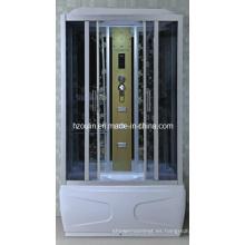 Cabina de lujo completa del cubículo de la caja de la casa de la ducha de vapor (AC-57-150)