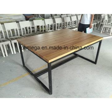 Table de salle à manger personnalisée pour 6 personnes (FOH-RDT1)