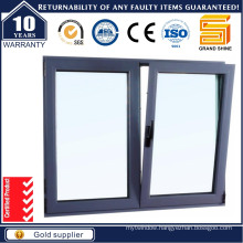 2016 Double Glazing Aluminium /Aluminum Tilt and Turn Sliding Windows