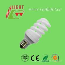T2 compact complet Spiral 11W CFL, lumière d'économie d'énergie