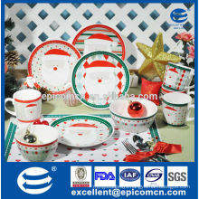 2015 hot new product for kitchen for children with Christmas dinnerware set, kitchen utensils