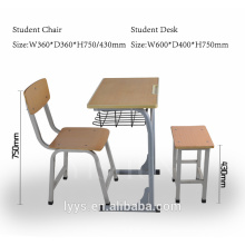 wholesale school student desk and chair sets