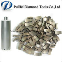 V Top Drill Bit Diamond Segment for Hand Driller for Concrete Floor Wall Drilling