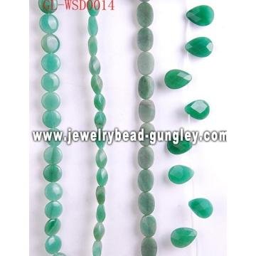 Grano accesorio de la joyería de piedras preciosas con color teñido
