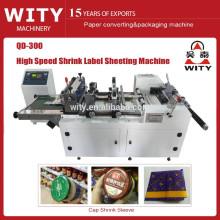 2015 Shrink Sleeve Label sheeting Machine price