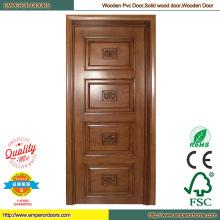 Sapele древесины дерева спальня простые деревянные двери двери