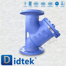 Didtek Trade Assurance DIN Cast Steel Strainer