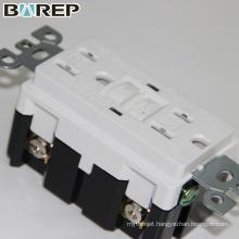 BAREP Duplex GFCI receptacle industrial plug and socket
