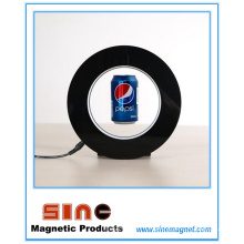 Creative Adversting Magnetic Float Levitating Display with LED