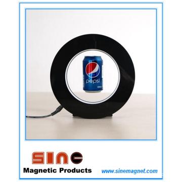 Exhibición creativa Levitating del flotador magnético de Adversting con el LED
