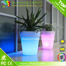 Jardineiro de jardim de flor de LED