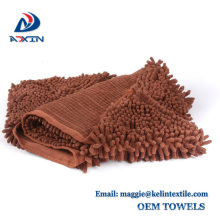 Fast Drying Pet Bath Towel, Ultra Absorbent Microfiber Chenille Pet Towel With Private Label