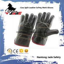Dark Furniture Gant de travail pour la sécurité industrielle en cuir de vachette