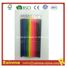 """12colors 7""""Wooden Color Pencil in PVC Box Packing"""