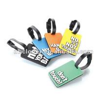 plastic rubber luggage tag strap