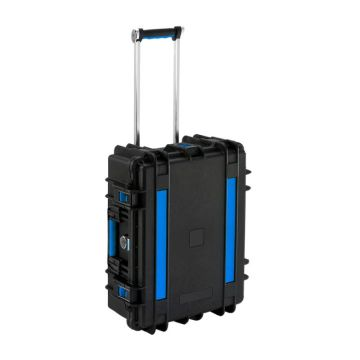 tablet storage and charging case trolley