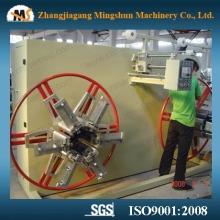 Machine à double bobinage pour plastique doux