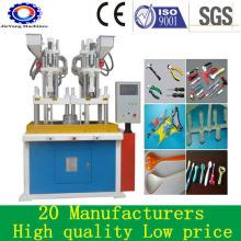 Máquinas plásticas de moldagem por injeção de várias cores para PVC
