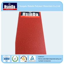 Duroplaste Polyester Ral 3018 Haut Textur Spray Pulverfarbe