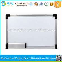 School whiteboard with magnets