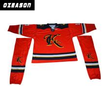 Ozeason Digital gedrucktes kundengebundenes Eis-Hockey-Jersey