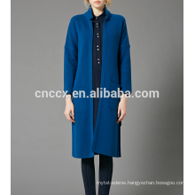 17PKCS361 2017 knit wool cashmere knitted lady robe
