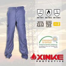 Pantalones rojos de trabajo